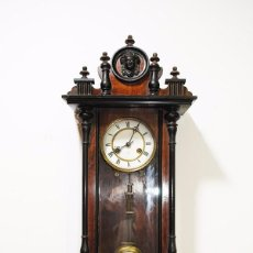 Relojes de pared: RELOJ DE PARED ANTIGUO DE ESTILO ISABELINO. Lote 85662960
