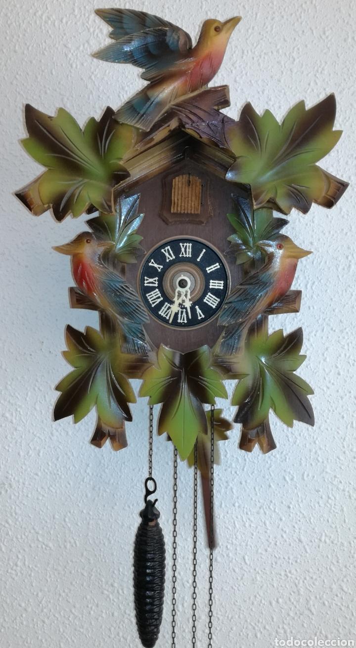 Relojes de pared: Antiguo Reloj Cuco Alemán. - Foto 2 - 85663660