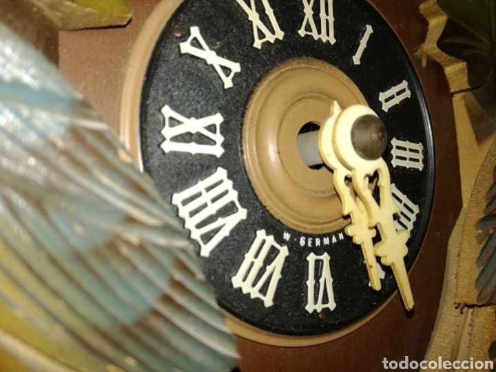 Relojes de pared: Antiguo Reloj Cuco Alemán. - Foto 4 - 85663660