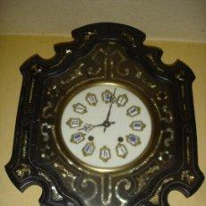 Relojes de pared: ESPLENDIDO RELOJ OJO DE BUEY SIGLO XIX. Lote 93940039