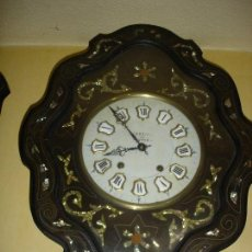 Relojes de pared: MUI MUI BONITO RELOJ OJO DE BUEY NAPOLEON III SIGLO XIX. Lote 93939767