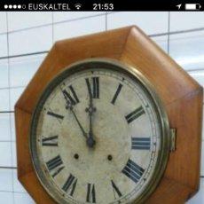 Relojes de pared: RELOJ DE PARED AMERICANO. Lote 85921268