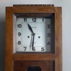 Relojes de pared: SEVILLA, VELLIDO, ANTIGUO RELOJ DE PARED. Lote 85947700