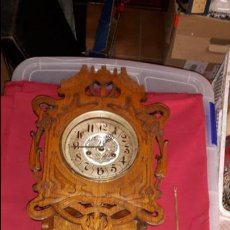 Relojes de pared: RELOJ S XIX ART NOUVEAU, MODERNISTA.. Lote 86413748