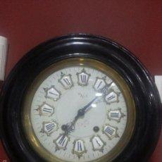Relojes de pared: OFERTON ESPECTACULAR RELOJ OJO DE BUEY -MAQUINA MOREZT.. Lote 58250483