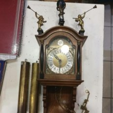 Relojes de pared: RELOJ DE PARED ANTIGUO FUNCIONA. Lote 86574564
