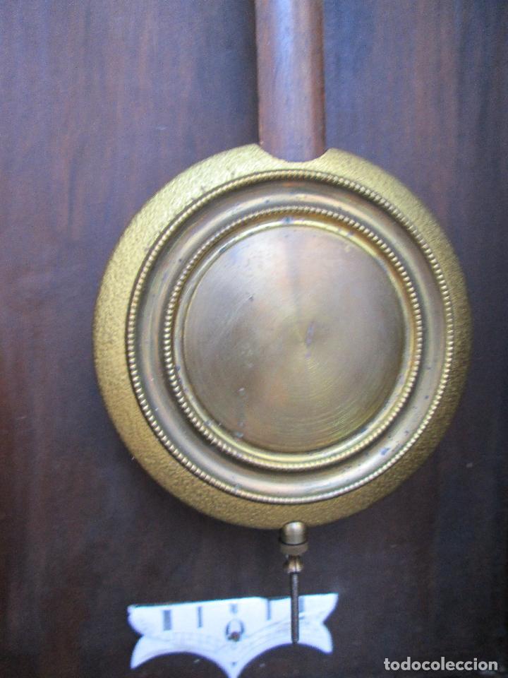 Relojes de pared: RELOJ DE PARED ANTIGUO H.A.C. FLECHAS CRUZADAS, 1890.FUNCIONANDO - Foto 12 - 87186528