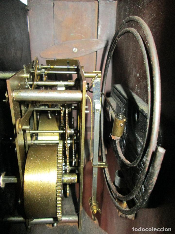 Relojes de pared: RELOJ DE PARED ANTIGUO H.A.C. FLECHAS CRUZADAS, 1890.FUNCIONANDO - Foto 20 - 87186528
