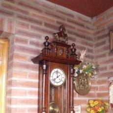 Relojes de pared: ¡¡GRAN OFERTA !! ANTIGUO RELOJ ALFONSINO GUSTAV BECKER- ALEMANIA -AÑO 1880-. Lote 116499808