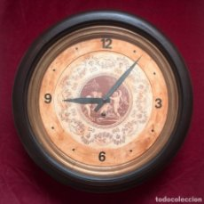 Relojes de pared: RELOJ DE PARED A PÉNDULO FABRICADO POR AUSONIA CLOCK EN 1878. Lote 87616900