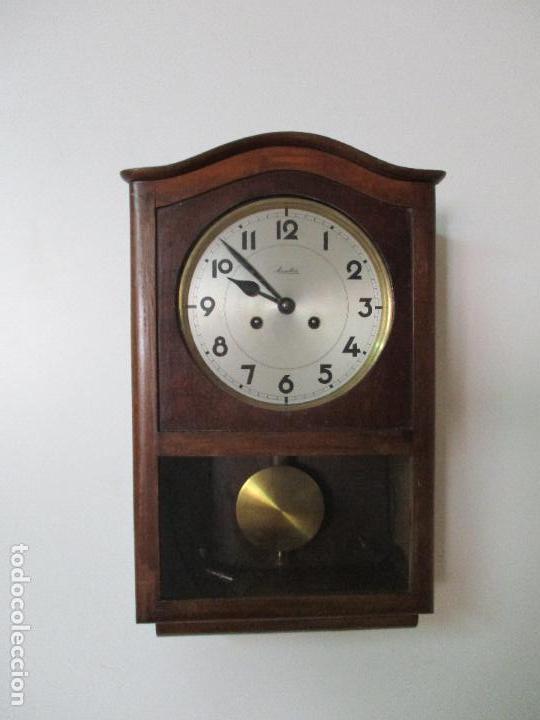 Mauthe Vendido De Venta Pared Complet Reloj Antiguo En Marca 34AjRq5L
