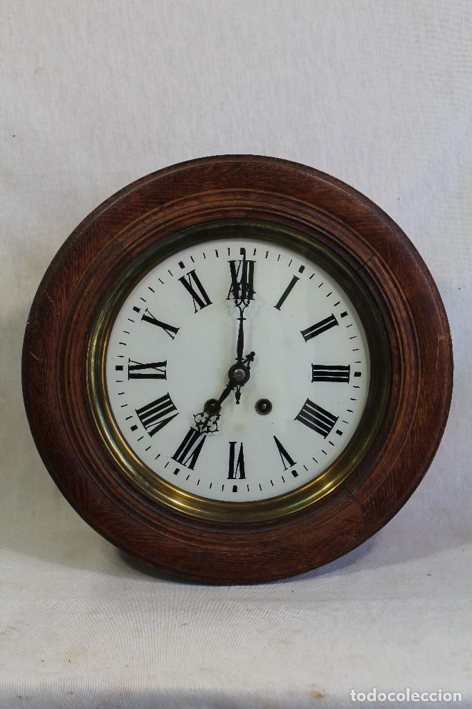 Reloj de pared antiguo ojo de buey comprar relojes antiguos de pared carga manual en - Relojes pared antiguos ...