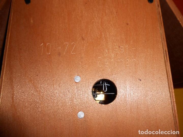 Relojes de pared: RELOJ CUCU CON FORMA DE CASA.TOTALMENTE MECÁNICO Y FUNCIONAL. - Foto 12 - 87981896
