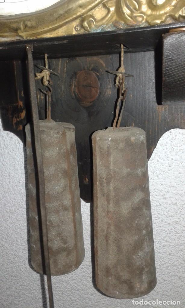 Relojes de pared: ANTIGUO RELOJ MOREZ SIGLO XIX - Foto 4 - 88100024