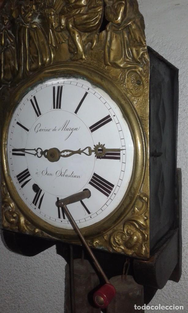 Relojes de pared: ANTIGUO RELOJ MOREZ SIGLO XIX - Foto 5 - 88100024