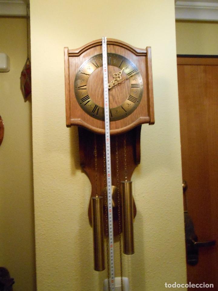 Relojes de pared: RELOJ DE PARED MARCA AMS CUERDA 7-8 DÍAS. - Foto 2 - 88173836
