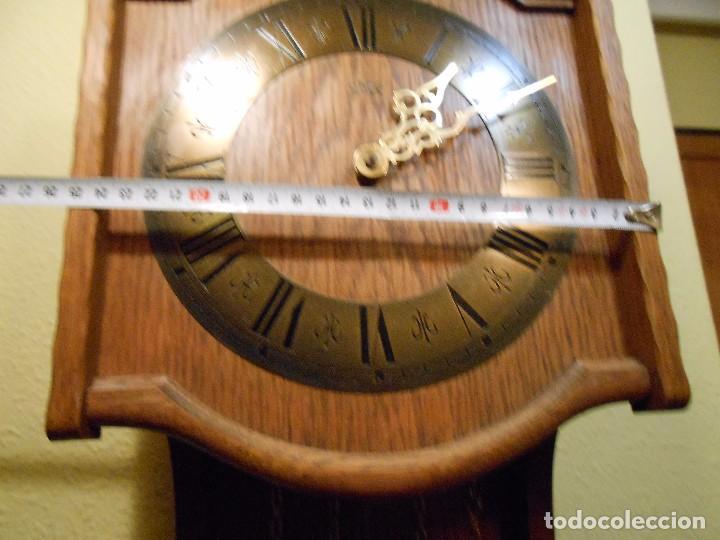 Relojes de pared: RELOJ DE PARED MARCA AMS CUERDA 7-8 DÍAS. - Foto 4 - 88173836