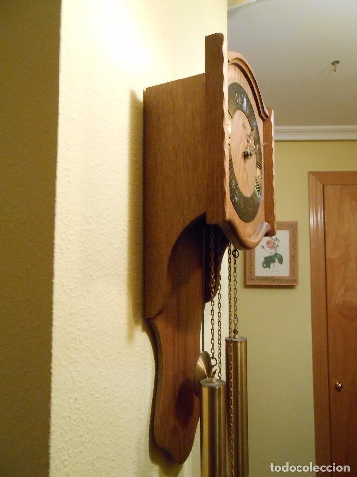 Relojes de pared: RELOJ DE PARED MARCA AMS CUERDA 7-8 DÍAS. - Foto 7 - 88173836