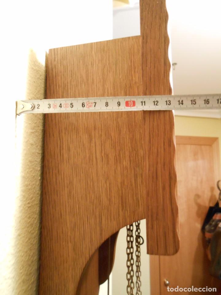 Relojes de pared: RELOJ DE PARED MARCA AMS CUERDA 7-8 DÍAS. - Foto 8 - 88173836