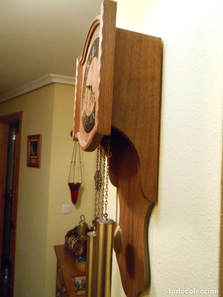 Relojes de pared: RELOJ DE PARED MARCA AMS CUERDA 7-8 DÍAS. - Foto 9 - 88173836