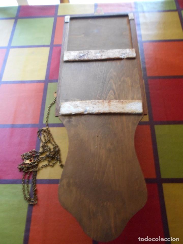 Relojes de pared: RELOJ DE PARED MARCA AMS CUERDA 7-8 DÍAS. - Foto 11 - 88173836