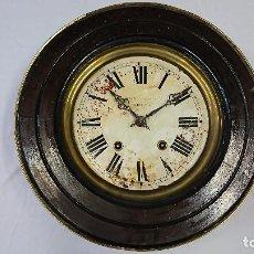 Relojes de pared: ANTIGUO RELOJ DE PARED, M. DE ABASOLO, BILBAO. Lote 88864352