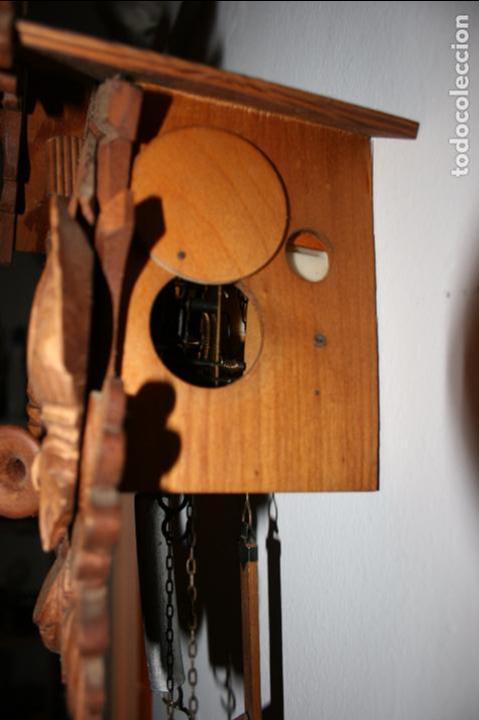 Relojes de pared: Reloj de cuco suizo. Está para restaurar, tiene alguna falta. desconozco si funciona. Madera - Foto 2 - 90415654