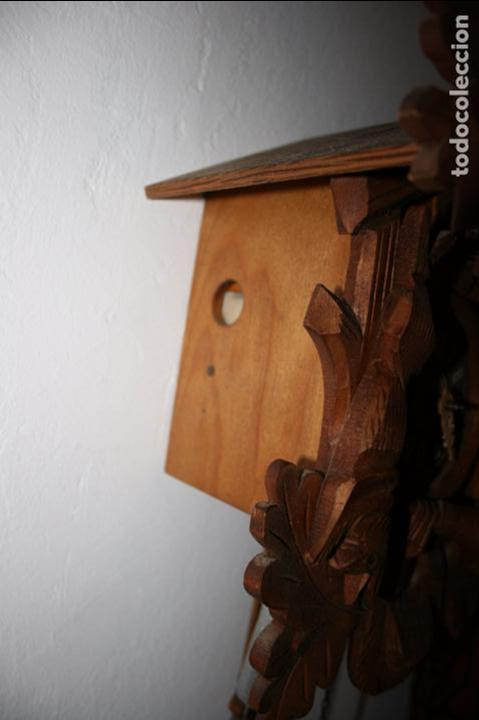 Relojes de pared: Reloj de cuco suizo. Está para restaurar, tiene alguna falta. desconozco si funciona. Madera - Foto 3 - 90415654