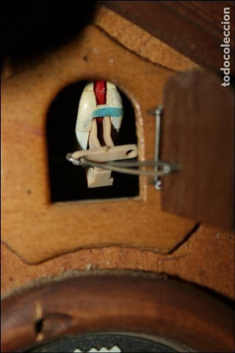 Relojes de pared: Reloj de cuco suizo. Está para restaurar, tiene alguna falta. desconozco si funciona. Madera - Foto 8 - 90415654