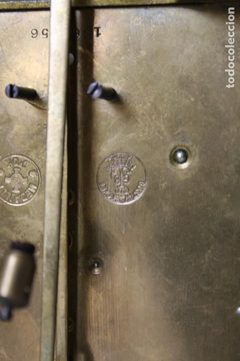 Relojes de pared: ANTIGUO RELOJ VIENE, DE GUSTAV BECKER, CON CUERDA, FUNCIONANDO - Foto 11 - 78166165