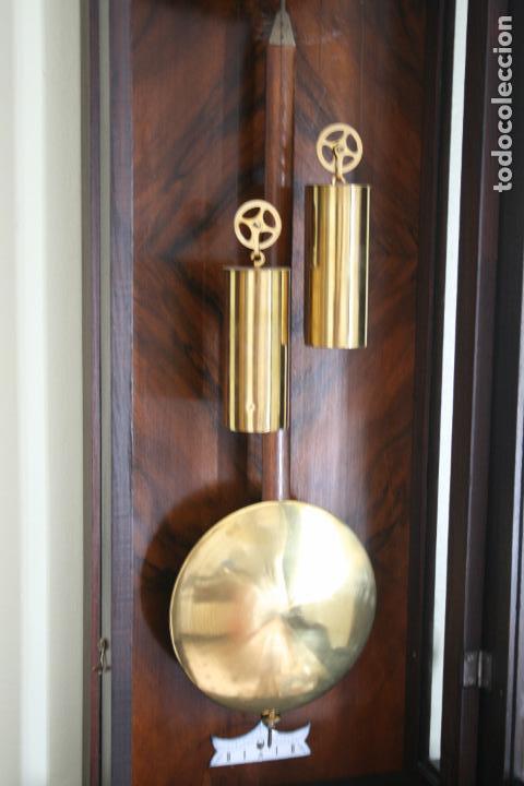 Relojes de pared: ANTIGUO RELOJ VIENE, DE GUSTAV BECKER, CON CUERDA, FUNCIONANDO - Foto 4 - 78166165