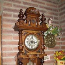 Relojes de pared: ¡¡GRAN OFERTA!! ANTIGUO RELOJ FREISWINGER DE ALEMANIA-AÑO 1880- FUNCIONAL. Lote 90999445