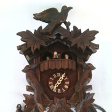 Relojes de pared: ANTIGUO RELOJ CUCO ALEMAN SELVA NEGRA.MARCA KUNEC. Lote 137536710