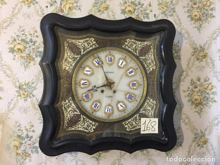 Relojes de pared: RELOJ DE OJO DE BUEY CUADRO FRANCÉS SIGLO XIX-XX, 6000-168 - Foto 3 - 43451006