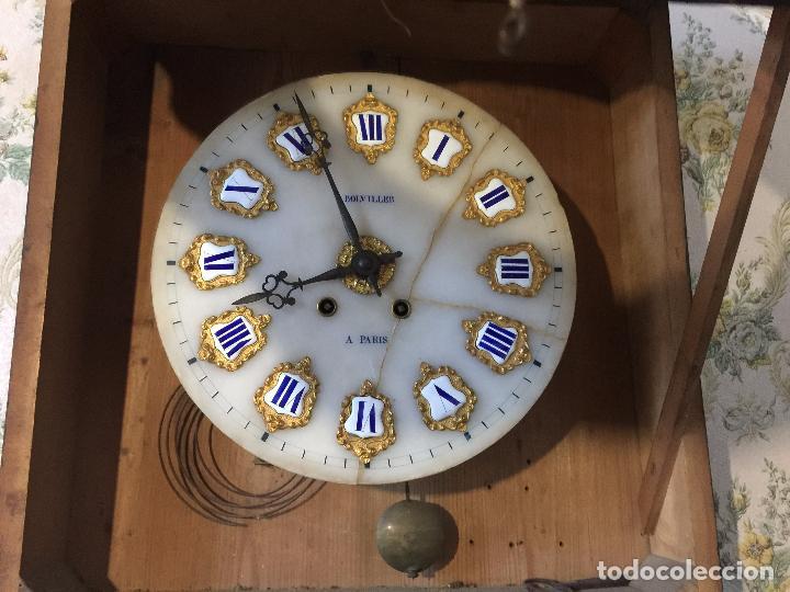 Relojes de pared: RELOJ DE OJO DE BUEY CUADRO FRANCÉS SIGLO XIX-XX, 6000-168 - Foto 5 - 43451006