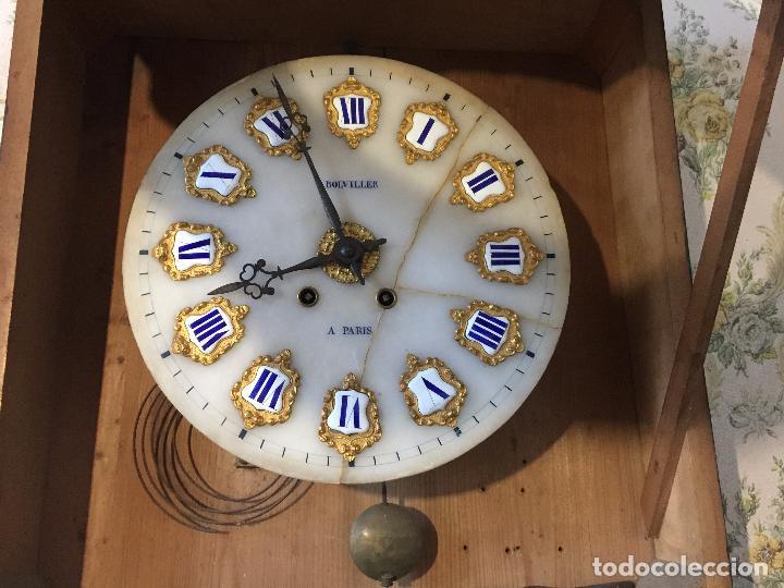 Relojes de pared: RELOJ DE OJO DE BUEY CUADRO FRANCÉS SIGLO XIX-XX, 6000-168 - Foto 7 - 43451006