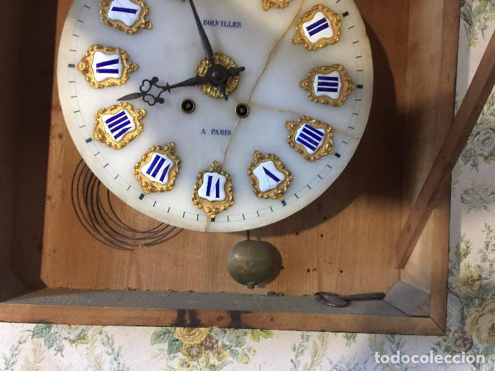 Relojes de pared: RELOJ DE OJO DE BUEY CUADRO FRANCÉS SIGLO XIX-XX, 6000-168 - Foto 8 - 43451006