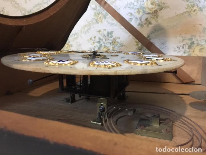 Relojes de pared: RELOJ DE OJO DE BUEY CUADRO FRANCÉS SIGLO XIX-XX, 6000-168 - Foto 9 - 43451006