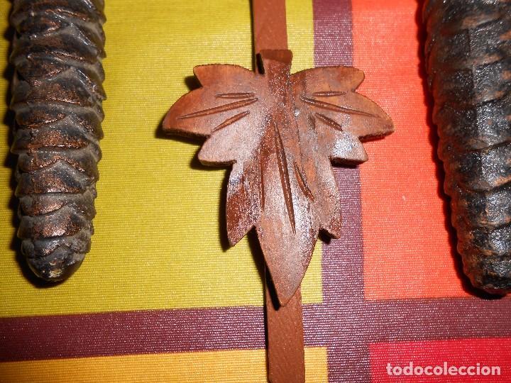 Relojes de pared: BONITO RELOJ CUCU-CUCO MECÁNICO DEL PRESTIGIOSO FABRICANTE HUBERT HERR TRIBERG(SELVA NEGRA ALEMANA). - Foto 9 - 177422252