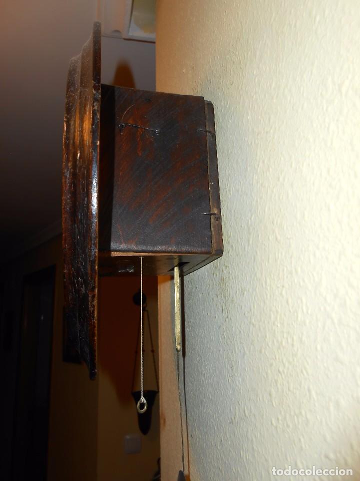 Relojes de pared: ANTIGUO RELOJ DE PARED DEL AÑO 1850/1870 APROXIMADAMENTE. - Foto 5 - 93091305