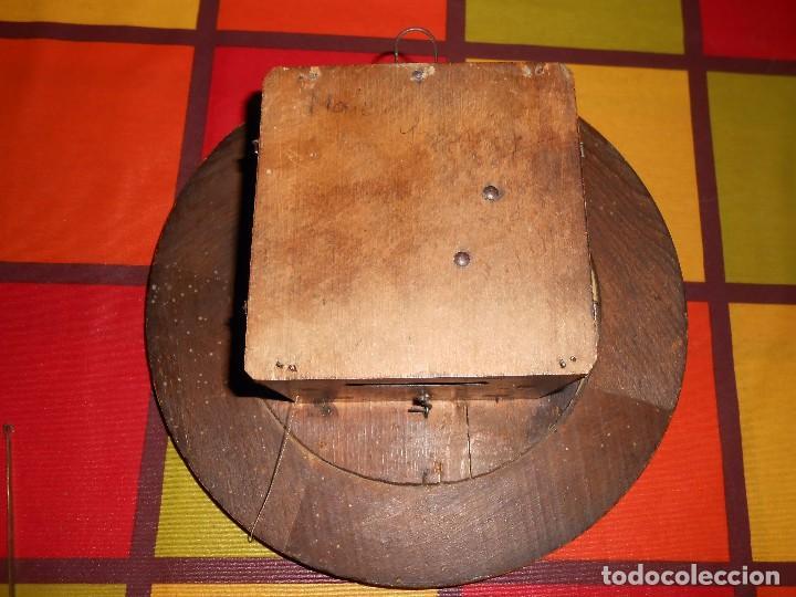 Relojes de pared: ANTIGUO RELOJ DE PARED DEL AÑO 1850/1870 APROXIMADAMENTE. - Foto 8 - 93091305