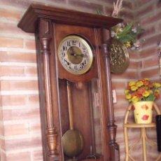 Relojes de pared: ¡¡GRAN OFERTA !! MAGNIFICO Y GRAN MOREZ ART-NOUVEAU -AÑO 1920-REPITE HORAS. Lote 93246965