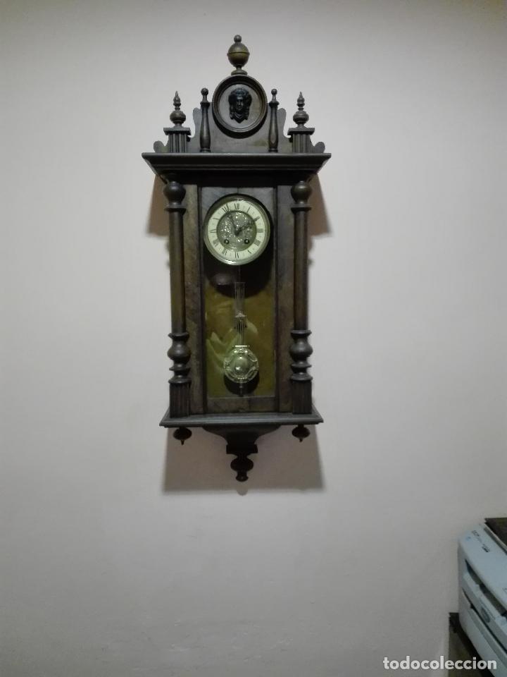 Relojes de pared: DELECIOSO Y FINO REGULADOR ALEMAN - Foto 4 - 42654830