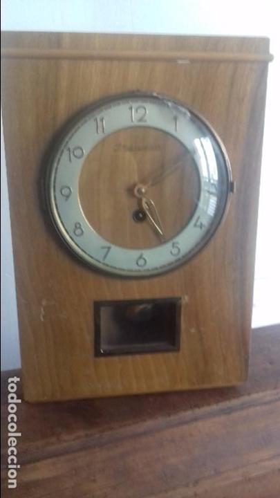 RELOJ DE PARED ALEMAN AÑOS 50 (Relojes - Pared Carga Manual)