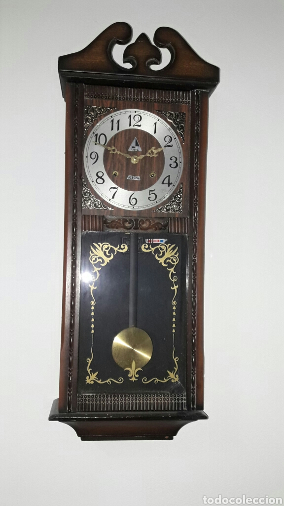 Reloj de pared marca lava comprar relojes antiguos de - Relojes de pared ...