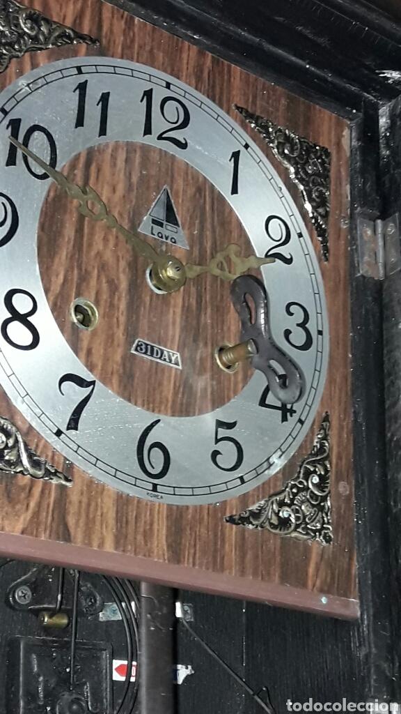 Relojes de pared: RELOJ DE PARED MARCA LAVA - Foto 2 - 95563056