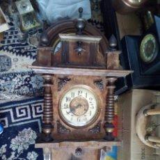 Relojes de pared: RELOJ DE PARED ESFERA GRANDE SIGLO XLX. Lote 95639390
