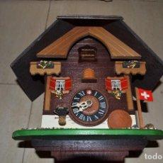 Relojes de pared: RELOJ DE CUCO SUIZO. Lote 95661695