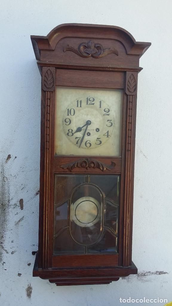 RELOJ DE PARED ANTIGUO (Relojes - Pared Carga Manual)