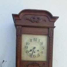 Relojes de pared: RELOJ DE PARED ANTIGUO. Lote 96065875